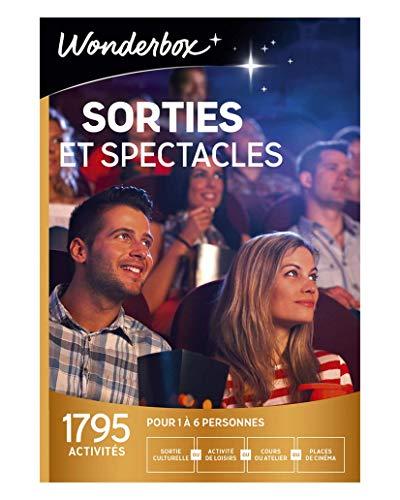 Wonderbox - Coffret cadeau culturel noel - SORTIES ET SPECTACLES - 1795...