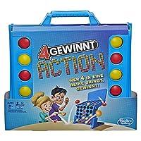 Hasbro-Spiele-E3578100-4-gewinnt-Action-temporeiches-Kinderspiel-blau