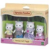 Sylvanian 5216 Families Persian Cat Family Set, Multicolor