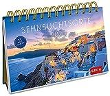 Sehnsuchtsorte 2020: Postkarten-Kalender mit separatem Wochenkalendarium -
