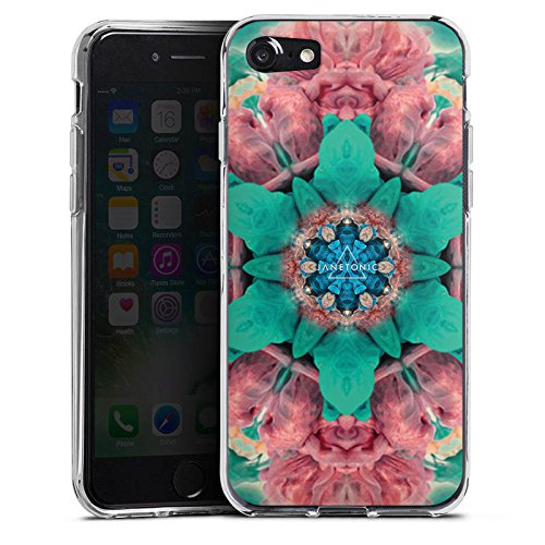 Apple iPhone X Silikon Hülle Case Schutzhülle Batik 360 Grad Abstrakt Silikon Case transparent