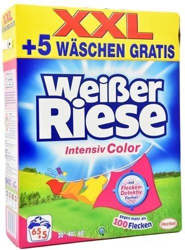 Waschmittel Weisser Riese Kraft Pulver color 70WL