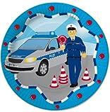 8 Teller *Polizei* für Kindergeburtstag // Kinder Geburtstag Party Motto Deko Geschirr