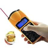 Generic Télémètre numérique avec écran LCD et pointeur laser Mesure les mètres, les aires et calcule le volume