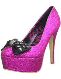 Abbey Dawn - Zapatos de vestir de sintético para mujer, color rojo, talla 40