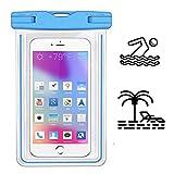 X-Tab Wasserdiche Handyhülle für Allview Soul X5 Strand Strandtasche IPX8 - HBB blau