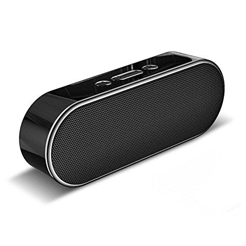 Aigoss Altavoz Bluetooth Inalámbrico Bluetooth 4,2 Portátil SoundBox Dual Controladores de besserem...