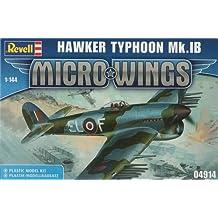Revell 04914 - Maqueta de avión Hawker Typhoon MK.1b, coleccion Micro Wings - escala 1/144
