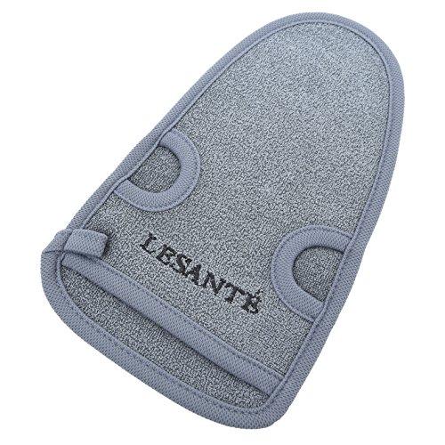 Natur Peelinghandschuh aus Pflanzenfaser | perfekt für Körperpeeling und Hamam | reinigt porentief | Massagehandschuh | Premium Wellness Handschuh