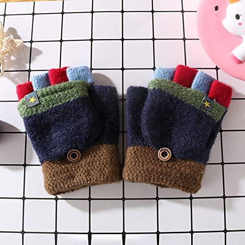 Fingerhandschuhe Strickhandschuhe,Winter warme Strickhandschuhe, kältefeste Handschuhe-3,Damen Fingerhandschuhe Warm