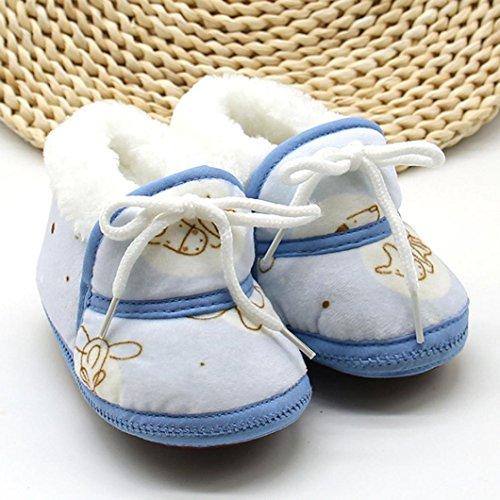 Blau Schnee Krabbelschuhe Baby Schuhe Neugeboren Warme Katzen Druck Switchali Prewalker Winter Stiefel OnTqY1