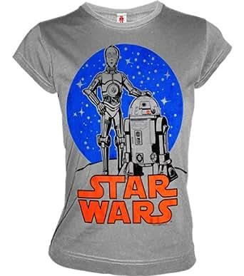 shoppen sie cooles logoshirt damen girl t shirt star wars. Black Bedroom Furniture Sets. Home Design Ideas