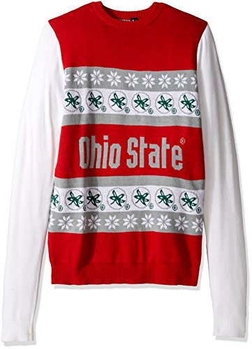 FOCO NCAA One Too Many Ugly Sweater, Unisex, Team Color, ()