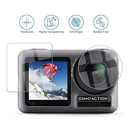 Pellicola di protezione schermo 6x per Sony Alpha 7 III Pellicola Protettiva Chiara Pellicola Display Pellicola
