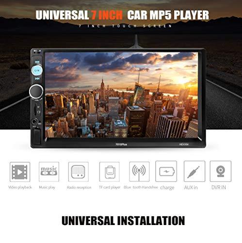 7 Inch Universal Car MP5 Player HD Touch Screen Bluetooth Handsfree Reversing Video Support USB/TF/FM Car Video mit Fernbedienung MP5 Player (Universal Touch Screen Fernbedienung)