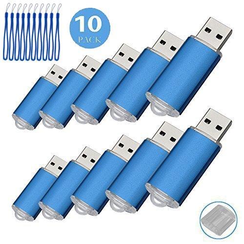 10pcs 1 G USB flash drive usb 2.0 Memory Stick Pen