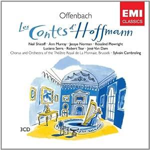 Jacques Offenbach: Les Contes d'Hoffmann (Hoffmanns Erzählungen) (Opern-Gesamtaufnahme) (3 CD)