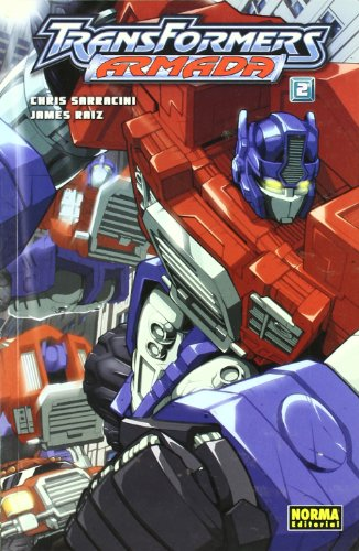 TRANSFORMERS: ARMADA 2 (CÓMIC USA) por Chris Sarracinni