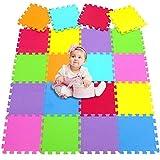 MU SHEN Alfombra Puzzle Bebe Suelo Goma Eva   Alfombra Infantil Puzzle   Alfombra para Juego de niños   Puzzle de Fitness