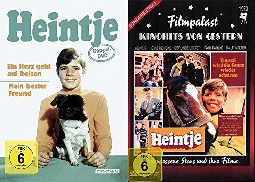 Heintje - Klassiker Collection - Ein Herz geht auf Reisen + Mein bester Freund + Einmal wird die Sonne wieder scheinen 3 DVD + CD 15 seine besten Lieder - Limited Edition