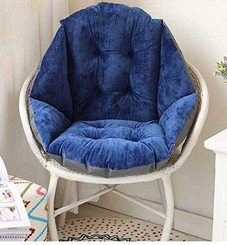 IPENNY Stuhlauflage Dicke Stuhlkissen mit Rückenteil Warm Sitzauflage Sitzpolster für Gartenmöbel...