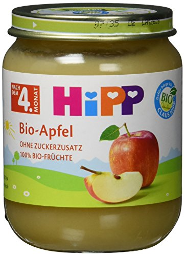 Hipp Bio-Apfel, 6er Pack (6 x 125g)