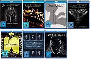 Game of Thrones Staffel 1-7 (1+2+3+4+5+6+7) [Blu-ray Set]