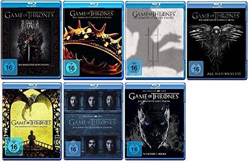 game of thrones 6 staffel Game of Thrones Staffel 1-7 (1+2+3+4+5+6+7) [Blu-ray Set]