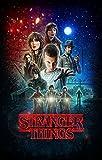 Stranger Things US Drama (14x22 inch, 35x55 cm) Silk Poster Seda Cartel PJ16-3CBB