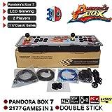 seasaleshop Pandora Box Key 7 Arcade Spiele Game Joystick Spielkonsole Home Arcade Konsole, 1920 * 1080P Full HD
