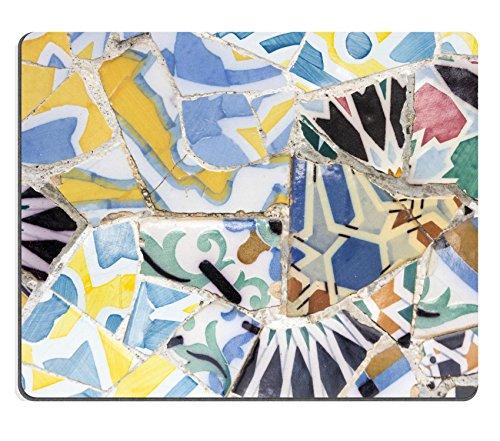 Preisvergleich Produktbild Liili Mauspad Naturkautschuk Mousepad Detail der berühmten Gaudi der längsten Bench Bild-ID 23045760
