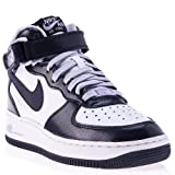 Nike Air Force 1 MID (GS) Schuhe white-purple dynasty-violet frost - 37,5