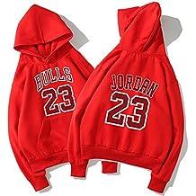 YHsports Chicago Bulls Felpe con cappuccio da uomo,Basketball jerseys aad3b78065c2