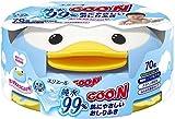 GOO.N Baby Feuchttücher Pinguin-Box 70 Tücher // Premium Qualität Made in Japan