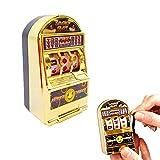 Familizo Mini Lucky Jackpot Slot Machine Fun Gift Fruit Slot Machine Juegos de Cartas de Dados Centros De Actividades Creativas Juguetes Educativos