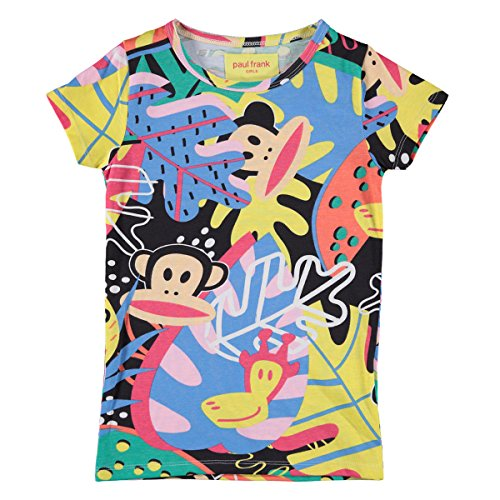 Paul Frank Mädchen T-Shirts-kurzärmlig - 116 (Kinder T-shirt Paul Frank)