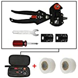 Lianqi Grafting Tools Kit, zwei Verwendungen Für Garten Obst Baum Prune Schere Snip und Pfropfung Schneidwerkzeug, es gibt zwei gepfropften Membranen als geschenk