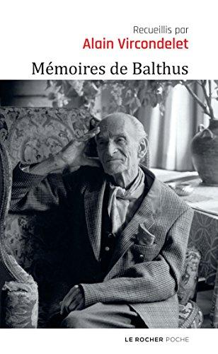 Mémoires de Balthus par Balthus
