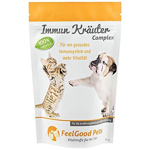IMMUN KRÄUTER Complex für Hunde & Katzen - Für ein starkes Immunsystem (75g Pulver)