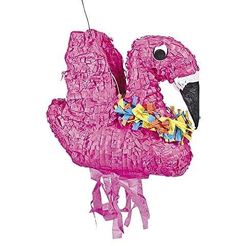 Pinata Flamingo in pink für Kindergeburtstag Palandi®
