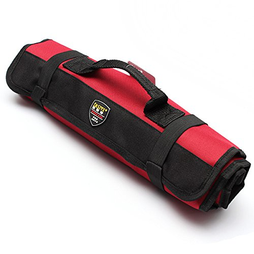 ExcLent Portable Reparatur Rolling Tool Utility Bag mit Tragegriff - Bag Tool Rolling
