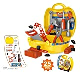 #7: Babytintin Engineering Tool Kit Toy Suitcase Set Toys for Kids and Children