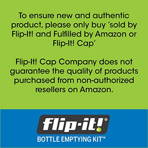 Flip-It! FL4X2APB Bottle Emptying Kit, 2-Pack - Kitchen/All-Purpose