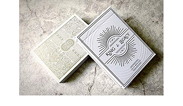 Buy SYNCSPIKE King and Legacy Playing Cards [Gold Edition Marked Deck]  Online at Low Prices in India - Amazon.in