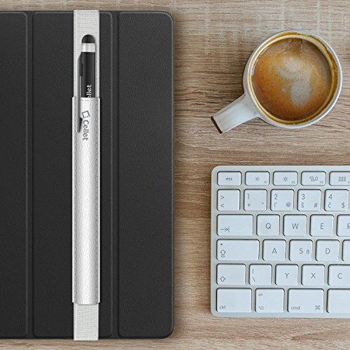 Cellet stiftsteckplatz Köcher für Tablets, Universal Kompatibilität inkl. iPad Air/iPad Mini Air 1/2/3/Pro, 9,7, Samsung Galaxy Tab, zenpad, Amazon Fire, Microsoft Surface und Viele Mehr von Cellet -