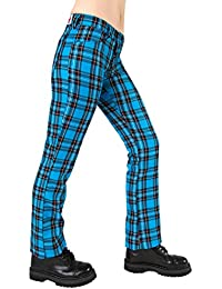 Black Pistol Hipster Tartan SALE Light Blue