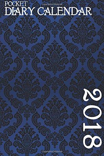 Pocket Diary Calendar: Blue Damask