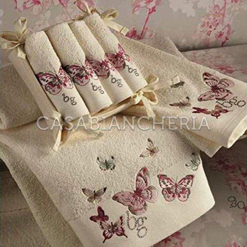 Set lavette blugirl homewear linea casta diva panna