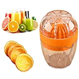 Upxiang Mini Portable Entsafter, Fruit Juicer Standmixer, Haushalts Mini-Mixer, Multiple Juicer Schleifer, Obst Gemüse Karotten Mangos Juicer