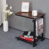 Klapptisch Chunlan Sofa Side/Kaffee/Snack/Computer Tisch, höhenverstellbar, Beistelltisch, Wohnzimmer, Büro